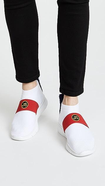 Joshua Sanders College Running Sock Joggers