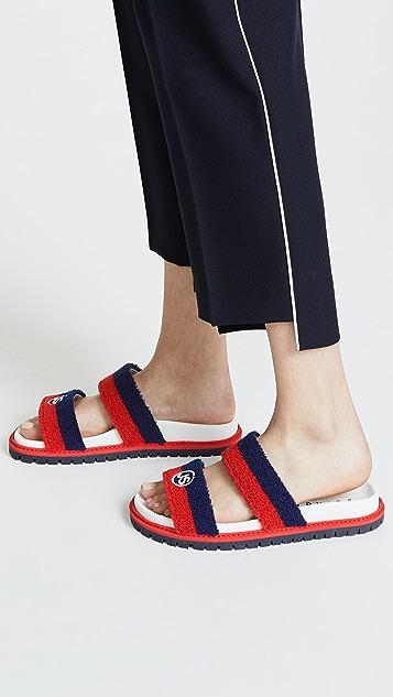 Joshua Sanders College Slide Sandals