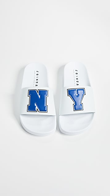 Joshua Sanders NY Beach Slide Sandals