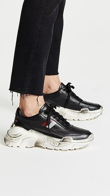 Joshua Sanders Zenith 条纹运动鞋| SHOPBOP