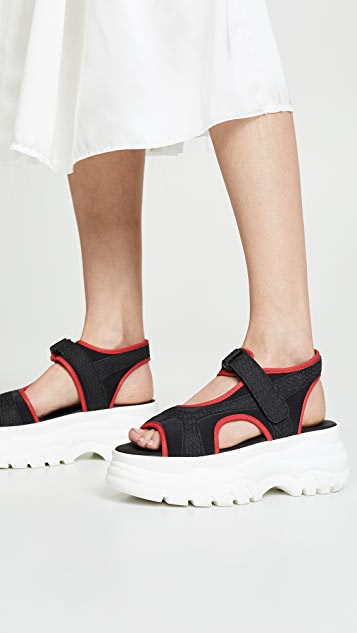 Joshua Sanders Spice Up Sandals