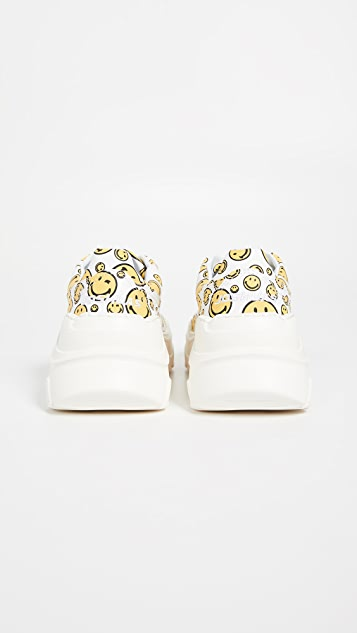 Joshua Sanders Zenith All Over Smile Sneakers