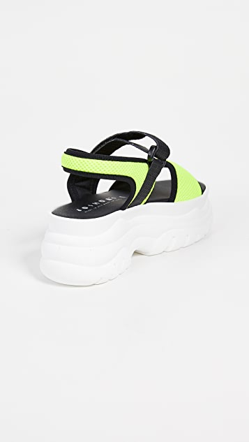 Joshua Sanders Yellow AT Spice Sandals