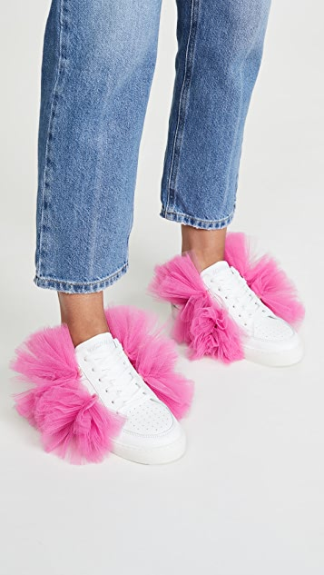 Joshua Sanders Tulle Story Donna Sneakers