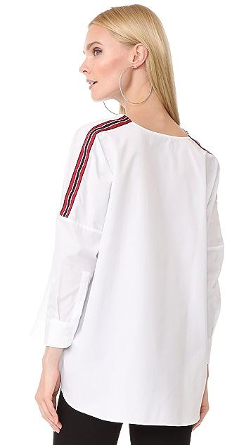 JOUR/NE Ribbon Shirt