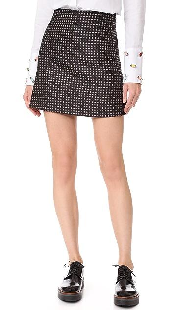 JOUR/NE Tie Skirt