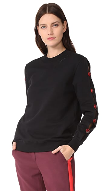 JOUR/NE Pullover with Buttons