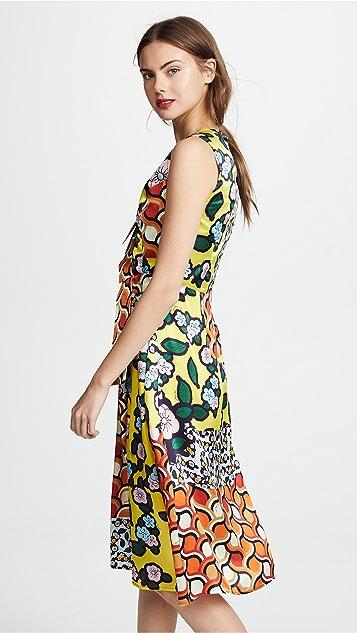JOUR/NE V Neck Floral Dress