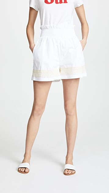 JOUR/NE Gathered Shorts
