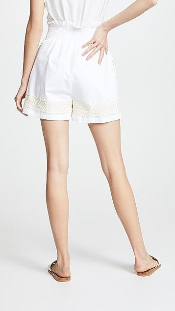 JOUR/NE Gathered Shorts