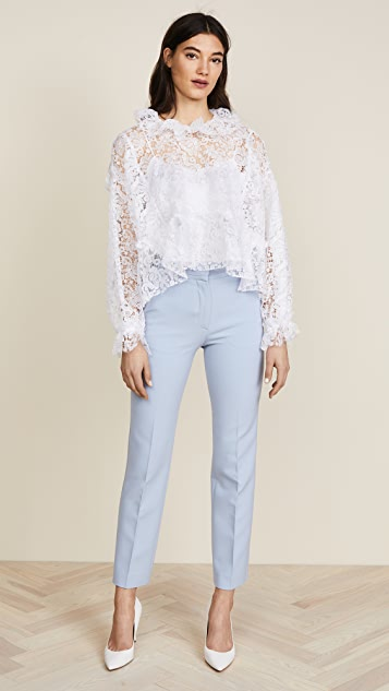 ... Jourden White Lace Blouse ...
