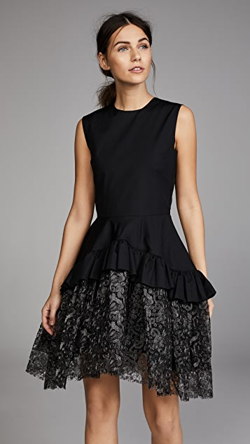 Jourden Ruffled Dress - Black