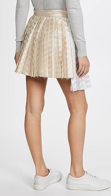 ... Jourden Gel Asymmetric Skirt ...