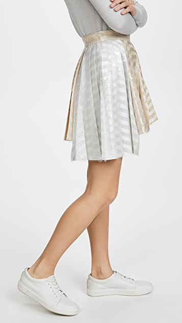 Jourden Gel Asymmetric Skirt