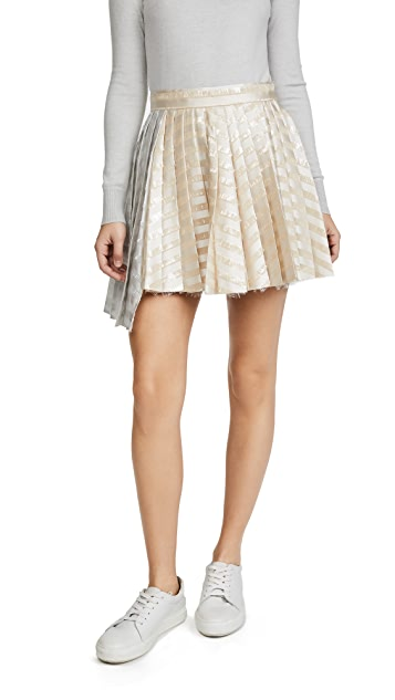 Jourden Gel Asymmetric Skirt