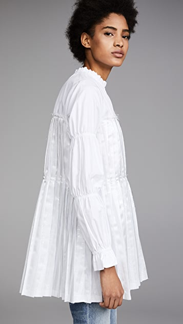 Jourden Gel Pleated Tunic