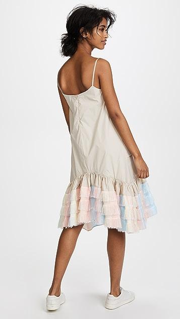 Jourden Unicorn Gathered Slip Dress