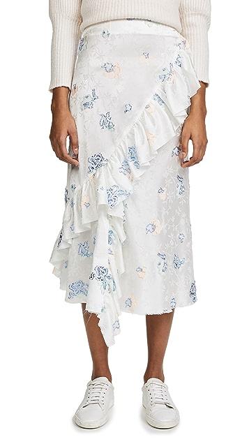 Jourden Bias Midi Skirt