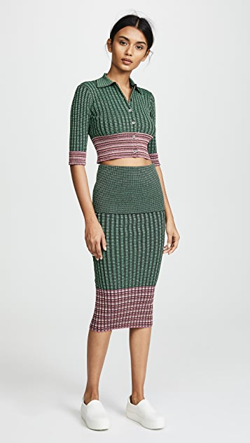 Jourden Ribbed Skirt
