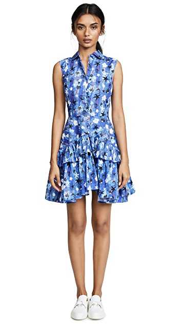 Jourden Mid Summer Poplin Shirt Dress