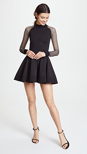 Jourden Metallic Circle Dress