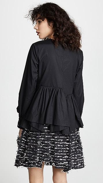 Jourden Asymmetric Mini Dress