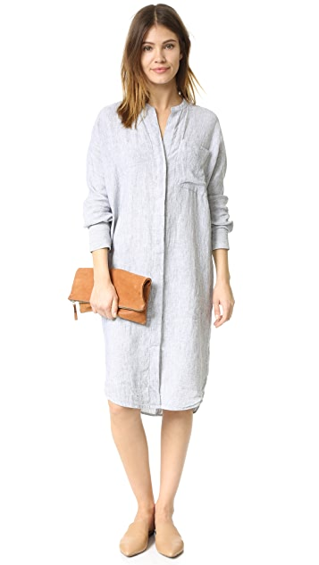 b6e476935a0 ... James Perse Stripe Dolman Shirtdress ...