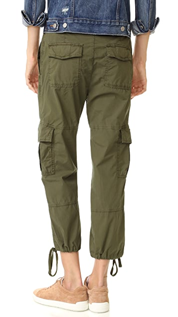 James Perse Slim Cropped Cargo Pants