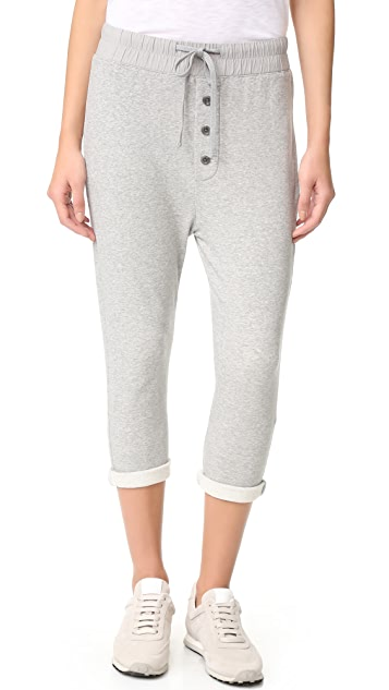 James Perse Slouchy Collage Sweatpants