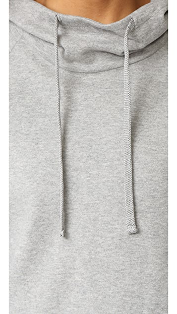 James Perse Oversize Pullover Hoodie