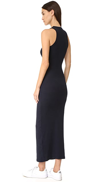 James Perse Sleeveless Pocket Maxi Dress