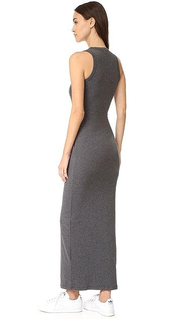 621cf6c9d347f6 ... James Perse Sleeveless Pocket Maxi Dress ...
