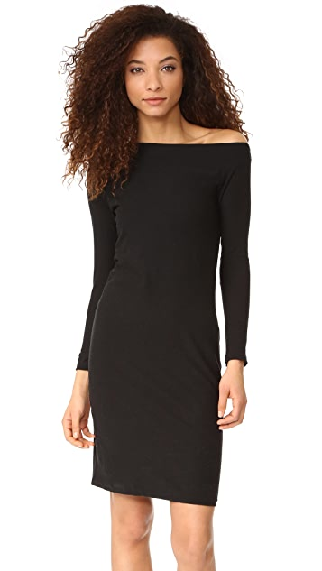 James Perse Off Shoulder Dress
