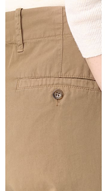James Perse Dropped Crotch Khaki Pants