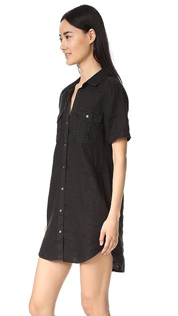 James Perse Utility Shirt Dress