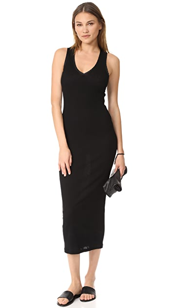 James Perse Satin Binding Tubular Dress
