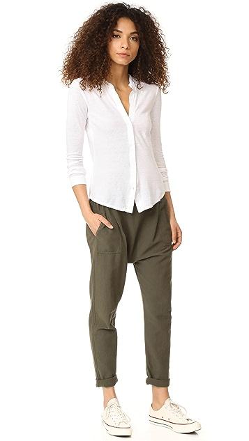 James Perse Long Sleeve Shirt