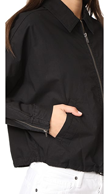 James Perse Batwing Bomber Jacket