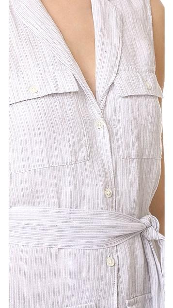 James Perse Pocket Shirtdress