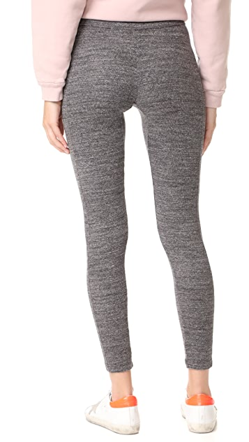 James Perse Contrast Stretch Leggings