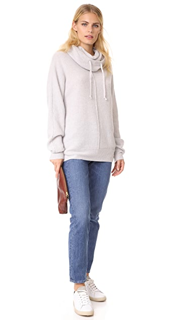 James Perse Cashmere Hoodie