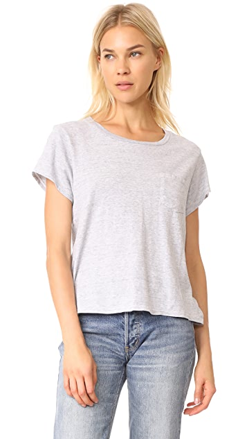 James Perse Vintage Sweatshirt Tee