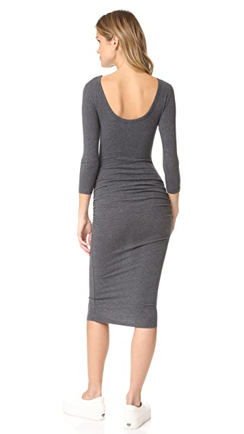 James Perse Low Back Skinny Dress