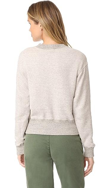 James Perse Plush Sweatshirt
