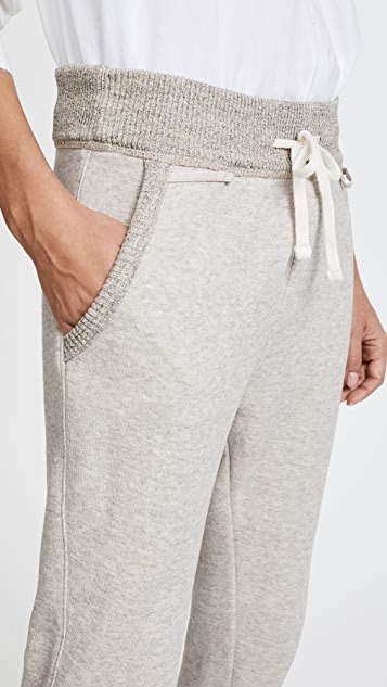 James Perse Rib Waist Sweatpants