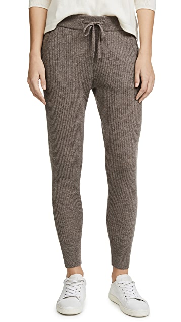 James Perse Cashmere Rib Leggings