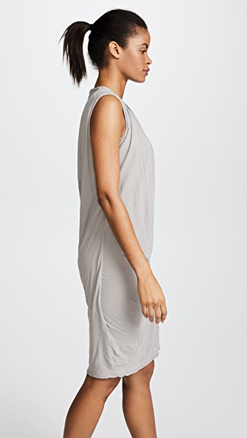 James Perse Sleeveless Draped Nomad Dress