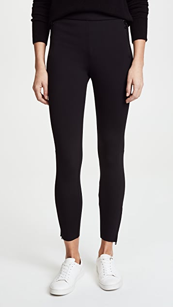 James Perse Yosemite Blocked Leggings