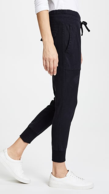 James Perse Jersey Inset Pants