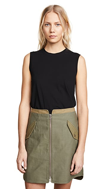 James Perse Easy Muscle Tank Top